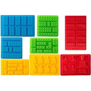 Bargain Paradise Silicone Molds Building Blocks and Robots