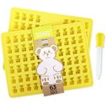 PROFESSIONAL GRADE PURE LFGB SILICONE Gummy Bear Mold by The Modern Gummy
