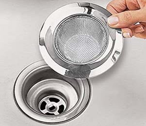 SOSUO 4.5 inch Stainless Steel Kitchen Sink Strainer