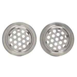 Uxcell Stainless Steel Kitchen Sink Basin Drain Strainer-min