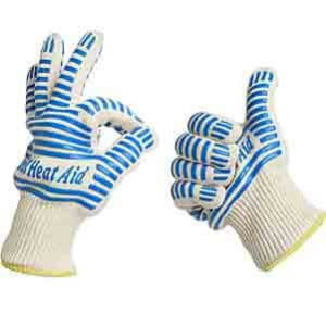 Grill Heat Aid Resistant Gloves