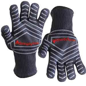 SimplyFire Heat Resistant Cooking Gloves