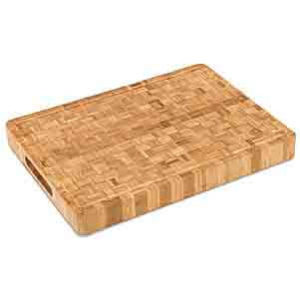 Large End Grain Bamboo Cutting Board