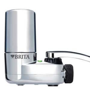 Brita faucet water filter system with light indicator