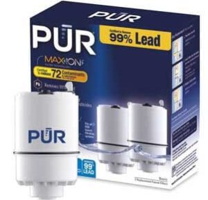 PUR Faucet Mount Replacement water filter- basic 2 pack