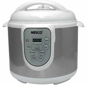 Nesco PC6-14 4-in-1 Digital Pressure Cooker