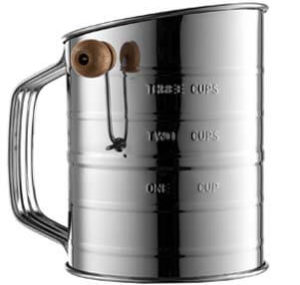 Bellemain Stainless Steel 3 Cup Sifter