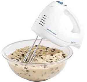Hamilton Beach 62682RZ Hand Mixer with Snap-On Case