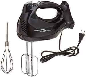 Hamilton Beach 62692 Hand Mixer with Snap-On Case