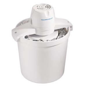 Hamilton Beach 68330N 4-Quart Automatic Ice-Cream Maker