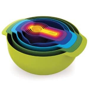Joseph 9 Piece Compact Mixing Bowl