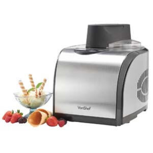 VonShef Professional Fully Automatic Ice Cream Maker