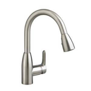 American Standard 4175.300.075 Colony Soft Pull-Down Kitchen Faucet Stainless Steel
