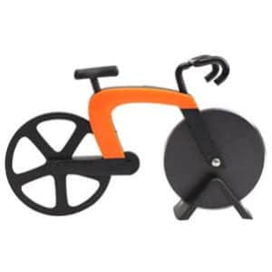 BleuMoo Non-stick Stainless Steel Bike Pizza Cutter