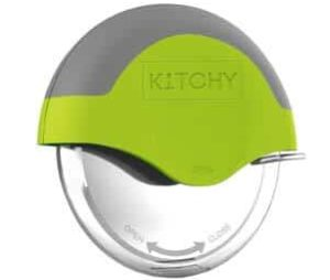 Kitchy Pizza Cutter Wheel Stainless Steel