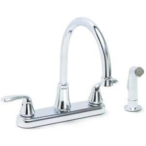 Premier Faucet 126967 Waterfront Lead-Free Two-Handle Kitchen Sink Faucet