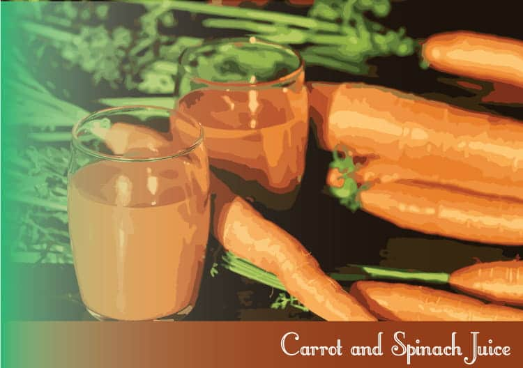 Carrot-and-Spinach-Juice