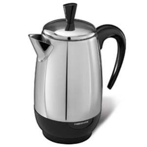 Farberware FCP280 Stainless Steel Coffee Percolator