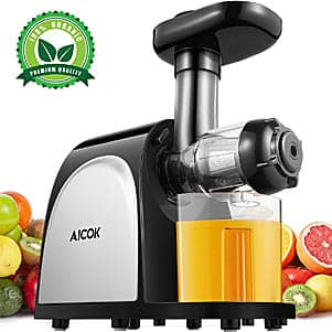 Juicer Slow Masticating Juice Extractor