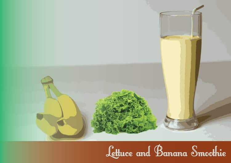 Lettuce-and-Banana-Smoothie