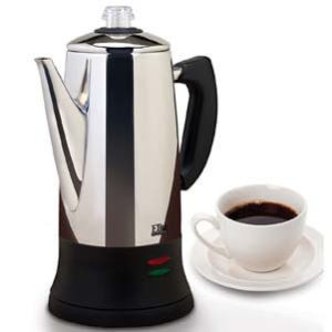 MaxiMatic EC-120 Elite Platinum Coffee Percolator