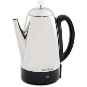 West Bend 54159 Classic Stainless-Steel Coffee Percolator