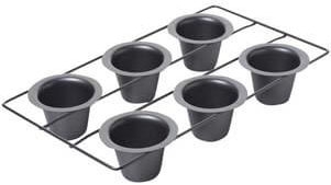 Chicago Metallic Non-Stick 6-Cup Popover Pan