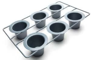 Fox Run Non-Stick Linking Popover Pan