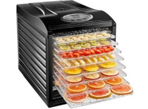 Chefman-9-Tray-Food-Dehydrator-Machine-Professional-Electric-Multi-Tier-Food-Preserver