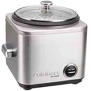 Cuisinart CRC-400 Stainless Steel Electric Rice Cooker