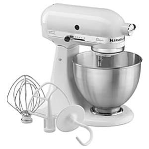 KitchenAid K45SSOB 4.5-Quart Classic Series Stand Mixer