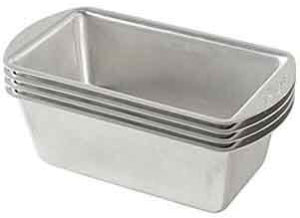 Nordic Ware Natural Aluminum Commercial Mini Loaf Pans
