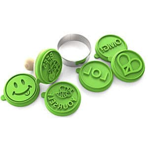 Silicandy Cookie Stamps Molds 4 Different Designs – Sets