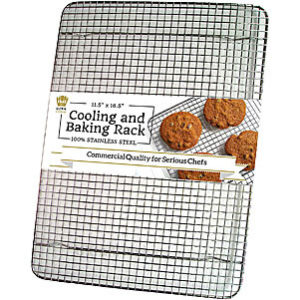 Ultra Cuisine 100% Stainless Steel Wire Cooling Rack