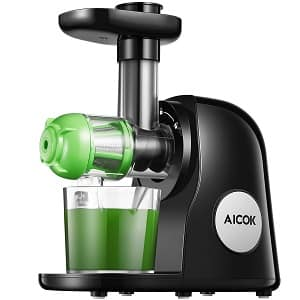 Juicer Machines, Aicok Slow Masticating Juicer Extractor
