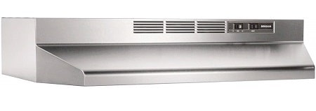 Broan-NuTone 413004 Stainless Steel Ductless Range Hood
