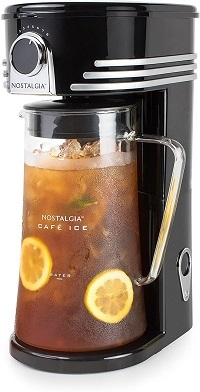 Nostalgia CI3BK Iced Coffee Maker